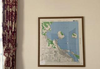 The map of Karatsu